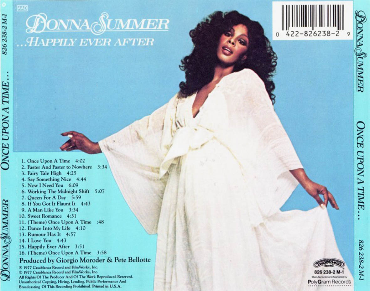 Donna Summer Once Upon A Time Erase Una Vez