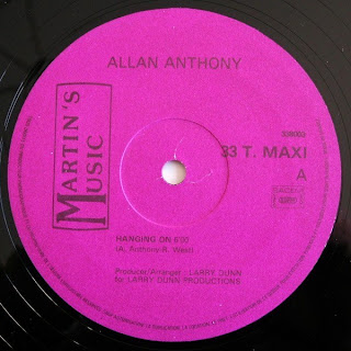 ALLAN ANTHONY - Hanging On (12