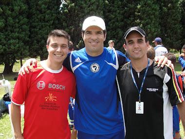 Ex- jogador Paulo Rink – Na Copa Bosch De Futebol Escolinhas