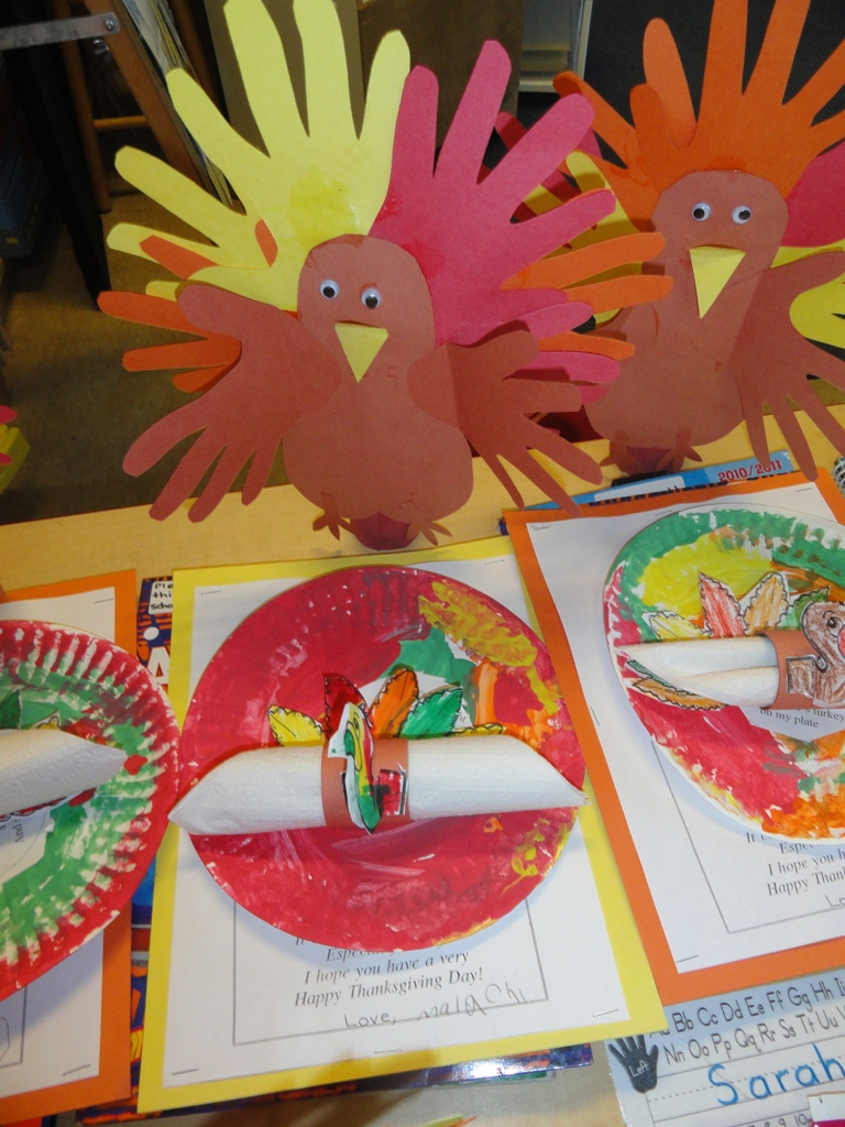Milton christian school thanksgiving crafts kindergarten for Thanksgiving craft ideas for kindergarten