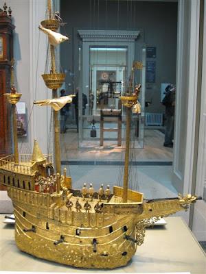 Reloj automático por Hans Schlottheim de Augsburg en el British Museum
