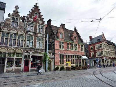 Barrio de Pathershol de Gante