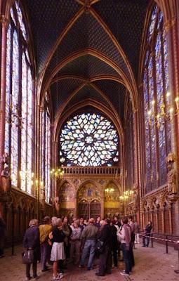 Iglesia de Saint Chapelle de París