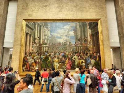 Bodas de Caná en el Museo Louvre de París