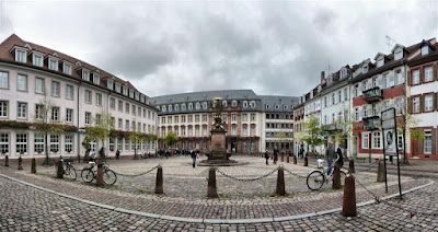 Kornmarkt en Heidelberg