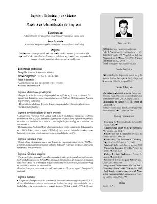 Diselfcore Ejemplos De Resume