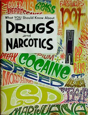 Drugs and Narcotics, Marijuana, cocaine, morphine, opium, hashish