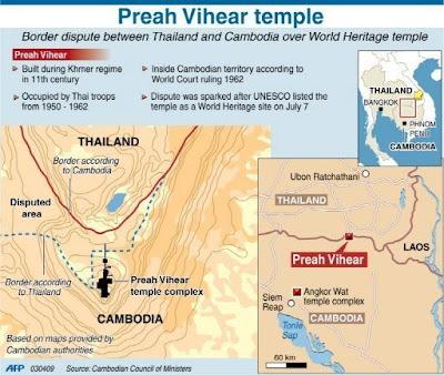 Perang Thailand Kamboja