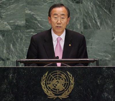 Ban Ki Moon Kunjungi Singapura