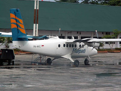 Twin Otter Merpati Plane Crash