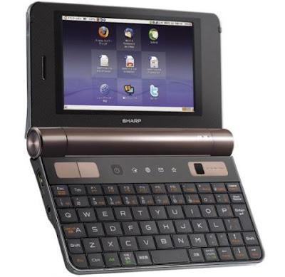 Sharp PC-Z1 NetWalker Mini Netbook
