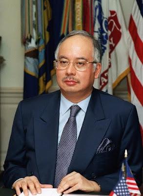 Malaysian PM Najib Tun Abdul Razak