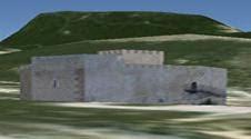 Castillo de Petrer en 3 D