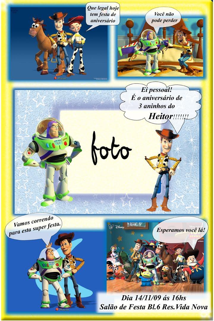 Convite Gibi Toy Story 10x15anuncio