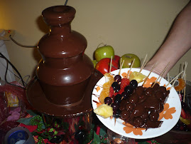 Chocolate Fondue Tastes Great with...