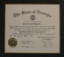 Georgia State Board of Accountancy Licensed Since ..........1987.........