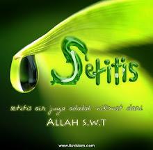 Setitis Nikmat dari ALLAH