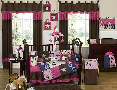 Baby Bedroom Sets on Beyond Bedding  Ride  Em Cowgirl