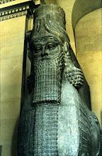 Ta sentinelle Iraq, point ne dort ! Ange gardien des remparts de Ninive