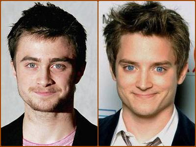 Daniel Radcliffe & Elijah Wood