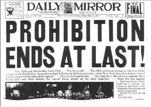 prohibition in greenville sc 1930s