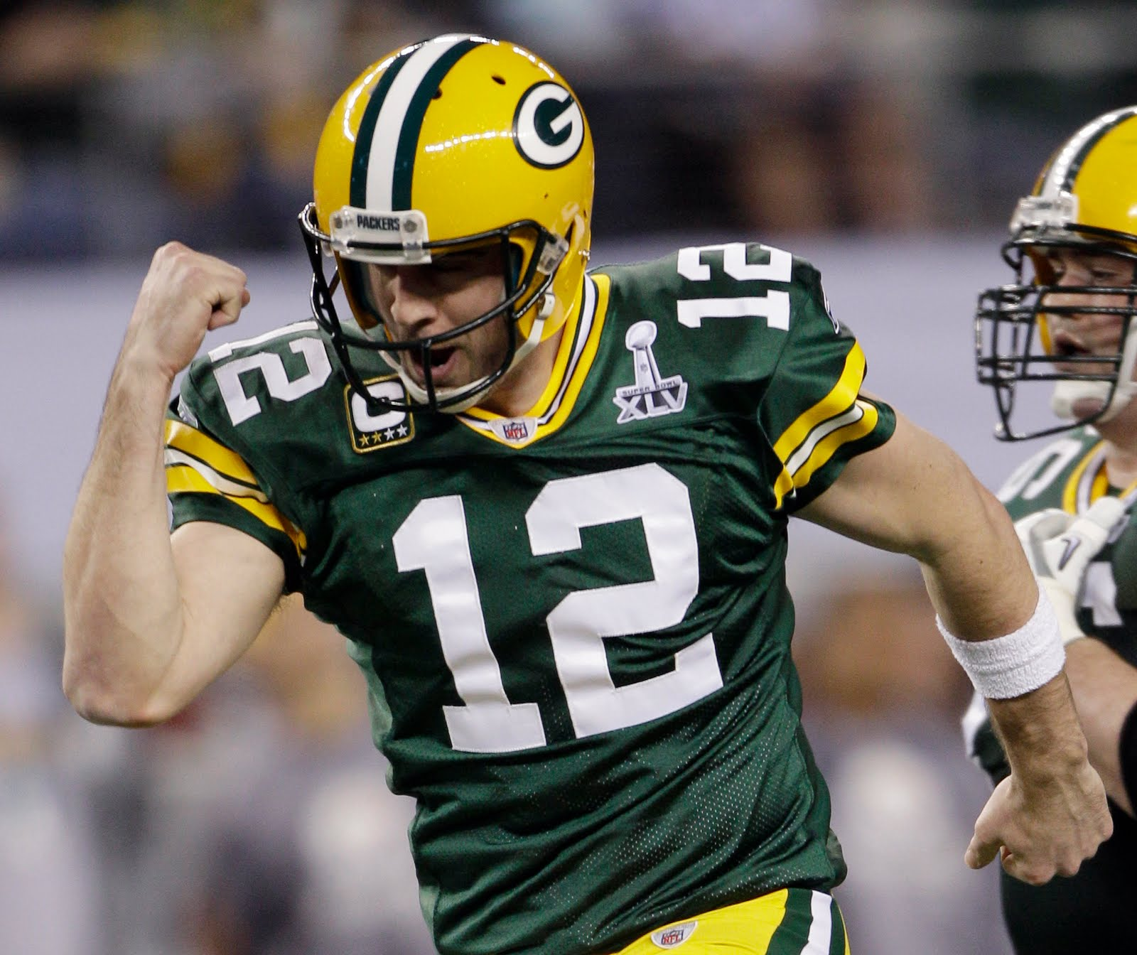 They were voted on Click here for picture (Aaron Rodgers) Nike Green Bay  Packers Randall Cobb Green C Patch Elite Jersey Nike Packers 12 ...