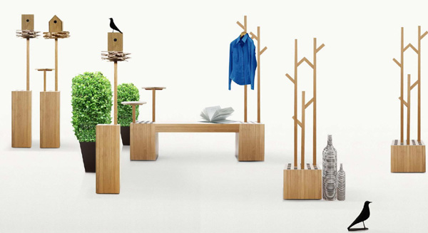 All About Modern Ideas Wooden Outdoor Furniture