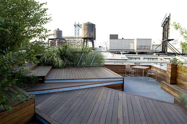 39 all about modern ideas 39 unfolding rooftop terrace in brooklyn new york - Rooftop terrace beautiful and fresh rooftop decorating ideas ...