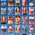 Bodypaint Bandeiras da UE