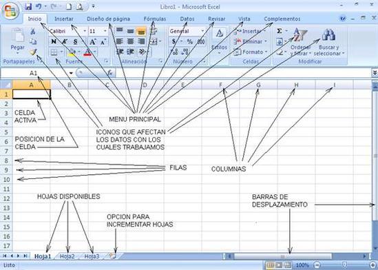 hoja de cálculo excel una hoja de cálculo es un programa que permite ...