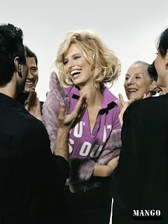 Karolina Kurkova Mango Clothing Fashion Photoshoot
