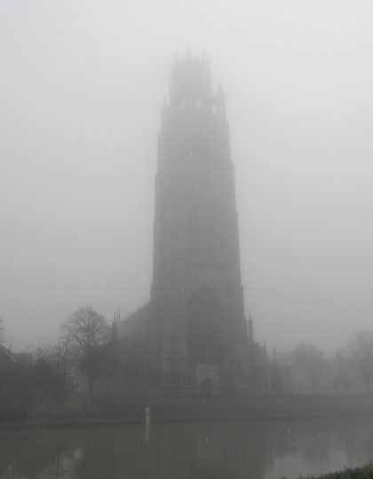 Boston Stump in the Mist