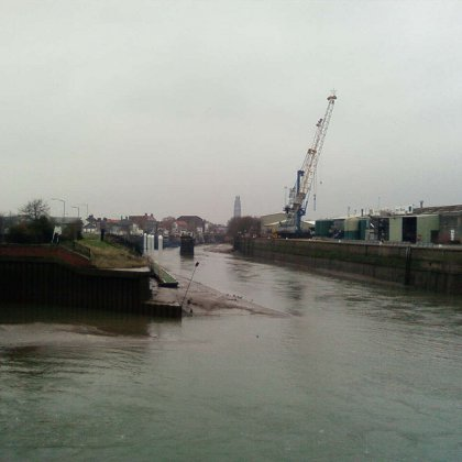 Boston Docks on the River Witham