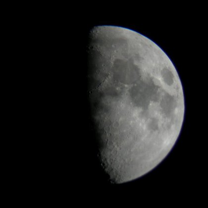 the Moon, 22 April 2010
