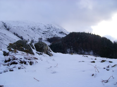 looking towards Helvellyn from near Thirlmere