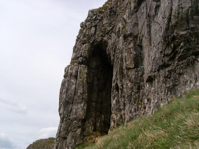 the view from horseshoe cave