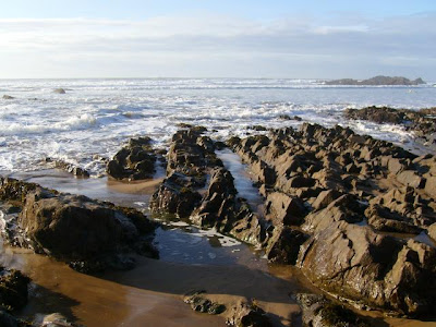 sandstone at Bude, Cornwall