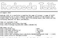 Redcode Talk