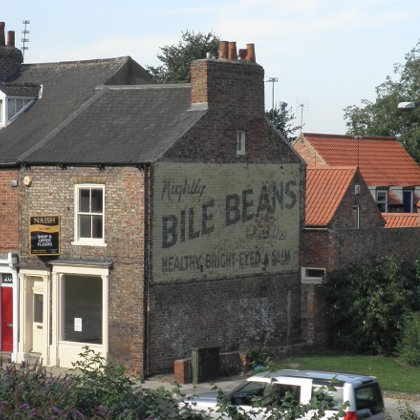 Sign: Bile Beans