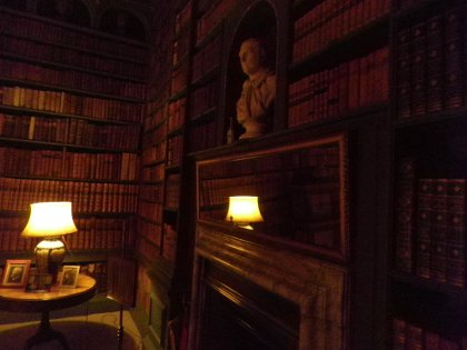 books at Belton House