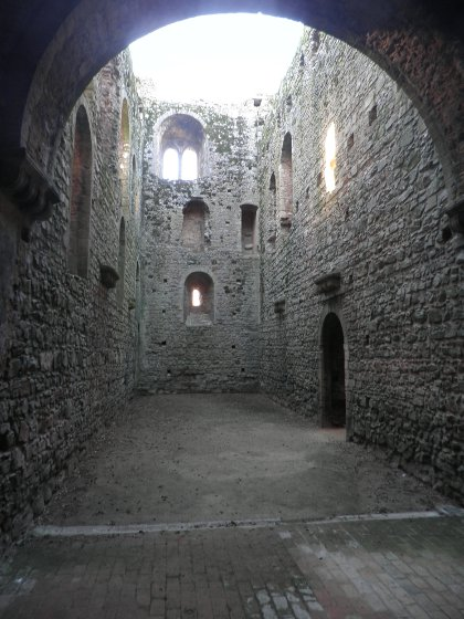 Castle Rising great hall
