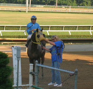 Punk wins a maiden claimer race at Mountaineer July 7, 2007