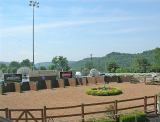 Mountaineer Racetrack Paddock