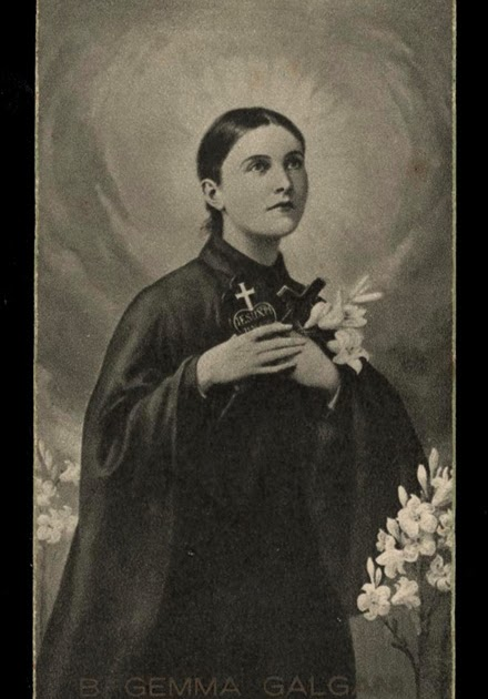 st gemma galgani extases de sainte gemma galgani en fran ais. Black Bedroom Furniture Sets. Home Design Ideas
