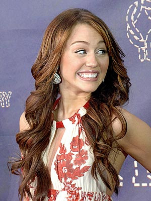 This is the first time Miley Cyrus