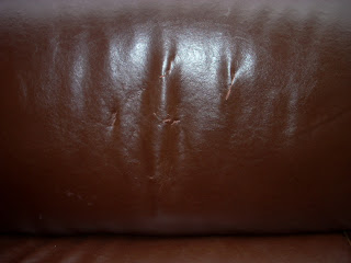 Real Italian Leather Made By Divani/Chateau Du0027Ax. There Are Some Small  Tears/slits On The Back Cushions Of The Sofa, But These May ...