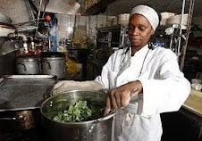 Donate today to the African People's Education & Defense Fund's Commercial Kitchen @ APEDF.org