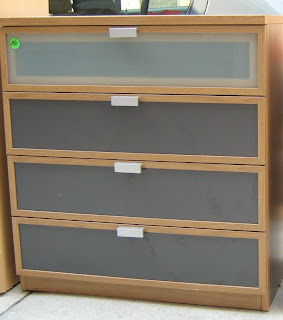 Ikea Glass Front Chests Of DrawersSOLD Soloshrinks - Ikea chest of drawers