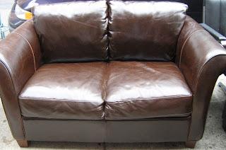 Italsofa Brown Leather Sofa Italsofa I 186 Upholstered