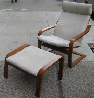 Superieur Ikea Poang Chair And Ottoman   SOLD